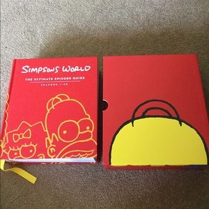 """Other - """"Simpsons World"""" book"""